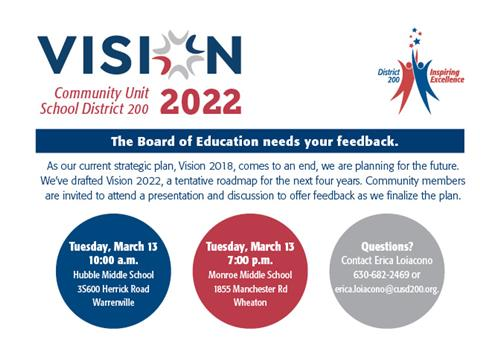 vision 2022 community feedback session