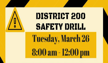 Planned Safety Exercise on Tuesday, March 26