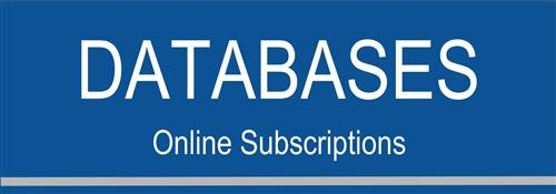 Databases: Online Subscriptions button