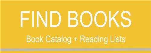 Find Books: Book Catalog & Reading Lists button