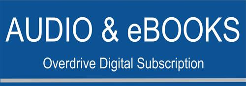 Audio & eBooks: Overdrive Digital Subscription button
