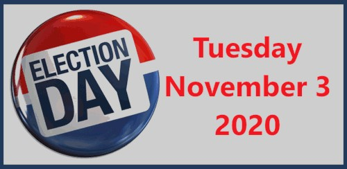 Tuesday, November 3, 2020 - No School