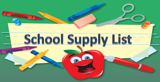 School Supply List  2020-21  Revised  8.6.20