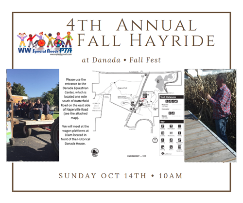 4th Annual Fall Hayride at Danada Farms 10am