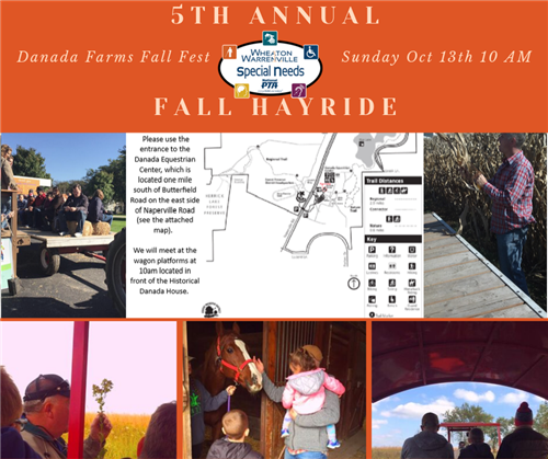 5th Annual WWSN PTA Fall Hayride at Danada Farms Fall Fest Sunday Oct 13th 10am (Opens to the Public at 11am)