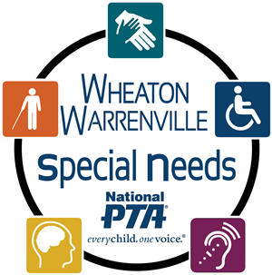 Wheaton Warrenville Special Needs PTA  New Round Logo
