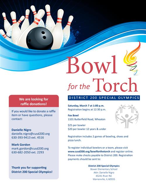 bowl for the torch