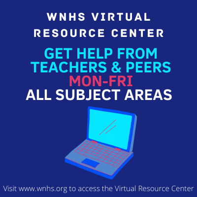 WNHS Virtual Resource Center is Now OPEN!