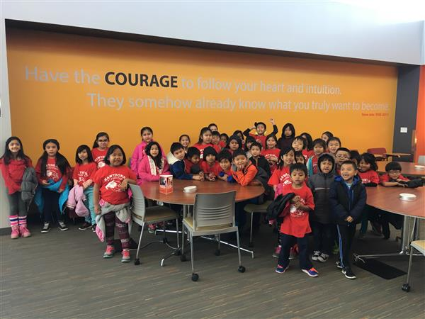CLEF CLub visits College of DuPage